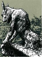 Dogs Blood Rising by BlackDogInk