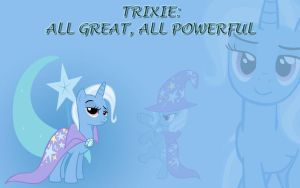 Trixie: All Great, All | MLP FiM Desktop by iDeltaVelocity