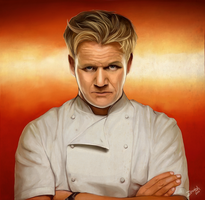Gordon Ramsay by Zeetah