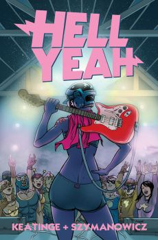 Hell Yeah issue 2 cover by astrobrain