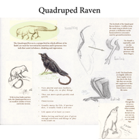 The Quadruped Raven by WhiskerfaceRumpel