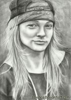 Axl Rose 3 by SavanasArt
