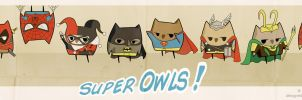 Super Owls ! by BlackCyanide-fr