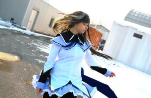Homura - Stop, turn back. by Achico-Xion