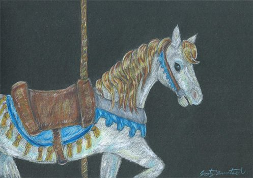 Carousel Horse by Trickster91