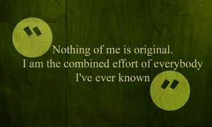 Quote by Chuck Palahniuk by eugenio1