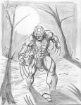 Weapon X sketch by c-crain