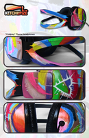 Coldplay Painted Headphones by Ketchupize