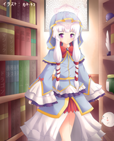 COMM : The Fortune Teller's Library by KANE-NEKO