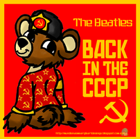 The Beatles-Back in the USSR (CD Cover) by MundienaDog