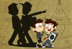 Gravity Falls/Nostalgia Critic: Look ahead! by 8bitcookies