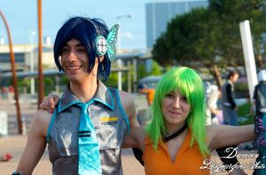 Japan Expo 2012 - Miku and Gumi - 1151 by dlesgourgues