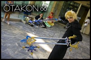 Otakon Roxas Cosplay by GingerAnneLondon