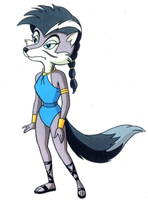 Lupe Production Art by The-SatAM-Zone