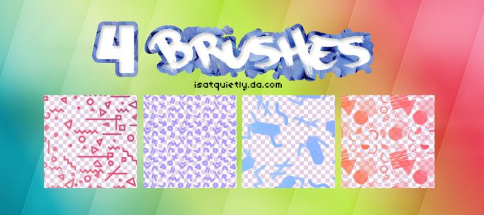 +Abstract Brushes by ISatQuietly