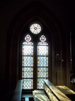 Church Window by Sabbelbina
