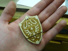 Hyrule USB Shield by zantaff
