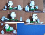 stormtrooper mini pet shop toy by Ozzlander