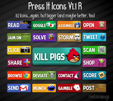 Press It Icons V1.1R by melissapugs