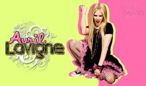 Avril Lavigne Wallpaper by elcofredemia