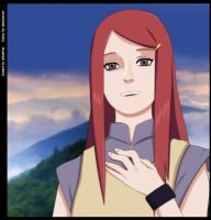 Kushina by sasukeoron