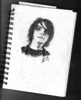 Gerard Way by abreakinthemonotony