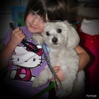 Le petit chien ami by hyneige