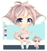 Kemonomimi adopt + page doll auction [OPEN] by Vao-K