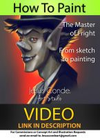 How to Paint_The Master of fright: TUTORIAL by JesusAConde