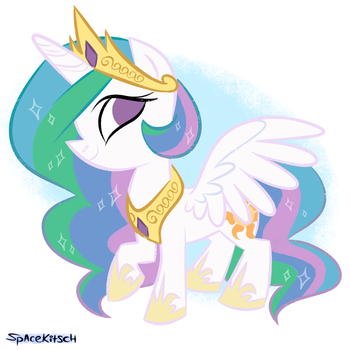 Celestia by spacekitsch