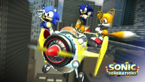 This is so cool!! ::Sonic Generations:: by xXBlackNexusXx