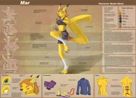 Mar - Character Sheet Commission by Ulario