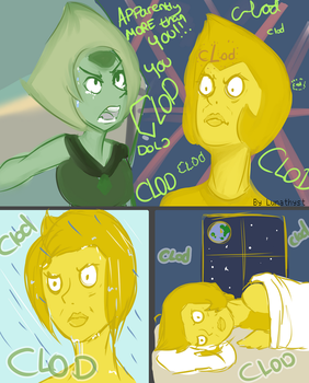 [SPOILER] What keeps Yellow Diamond up at night by Lunathyst