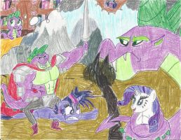 Spike's Adventure: A Dragon's Daydream by PuffyTopianMan
