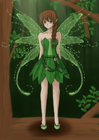 Forest Fairy by polka-dot-bananas