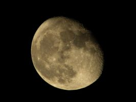 waning gibbous 'edit' by assassin4