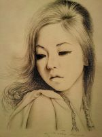 Ahn So Hee by SadDancer