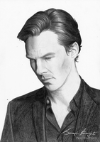 Benedict Cumberbatch by white-materia
