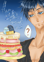 Happy Birthday Aomine [08.31] by Alychia-tan