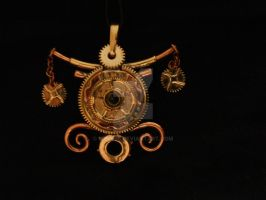 Steam-punk opening pendant by mpv666