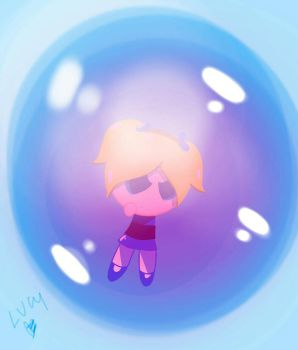 bubble girl by ChanLucy
