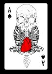 Aces Skull Heart by PsihoDrill