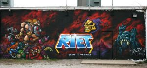 He Man Wall by RietOne