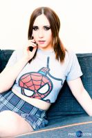 Spidergirl by Stephanie-van-Rijn