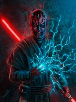Darth Maul by javilingt