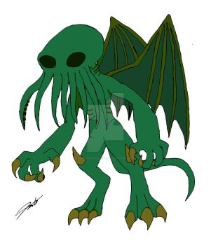 Cthulhu by TroodonKid2007