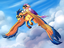 flying high by aacrell
