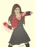 Scarlet Witch by seventhdemigod