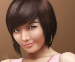 Min Sunye by LudyFolary