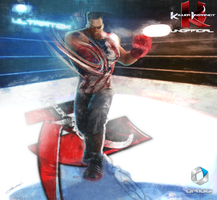 T.J. Combo Killer Instinct Fan art by ORiGO-GAMES